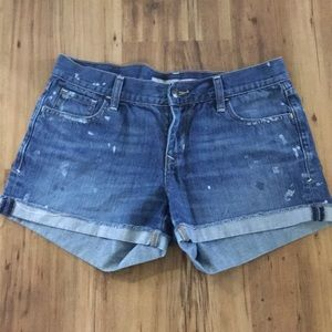 Old Navy Paint Drip Shorts